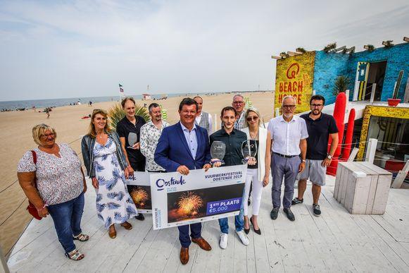 De winnaars werden bekendgemaakt bij het Q Beach House