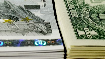 Euro op hoogste niveau tegenover dollar in ruim drie jaar