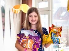 Amy (10) trakteert haar klas op chips, want cupcakes uitdelen mag niet meer door corona