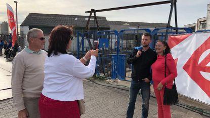 Selfie met James of Tourist? Eerste Hert Vree Loate lokt kijklustigen naar Oosteroever