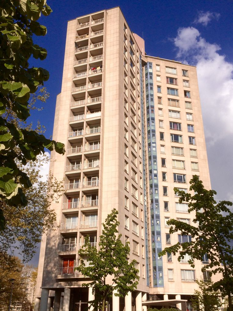 Eén van de drie Kielparktorens, ontworpen door architect Jos Smolderen.