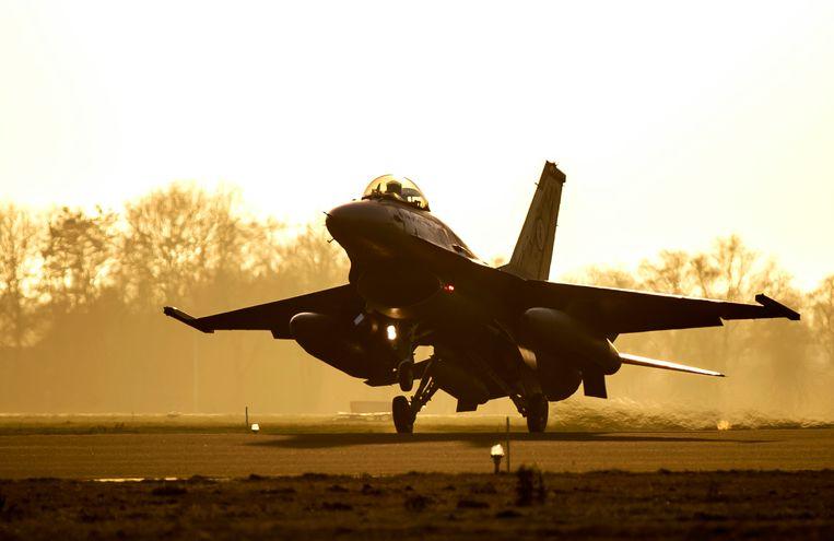 F-16. Beeld ANP