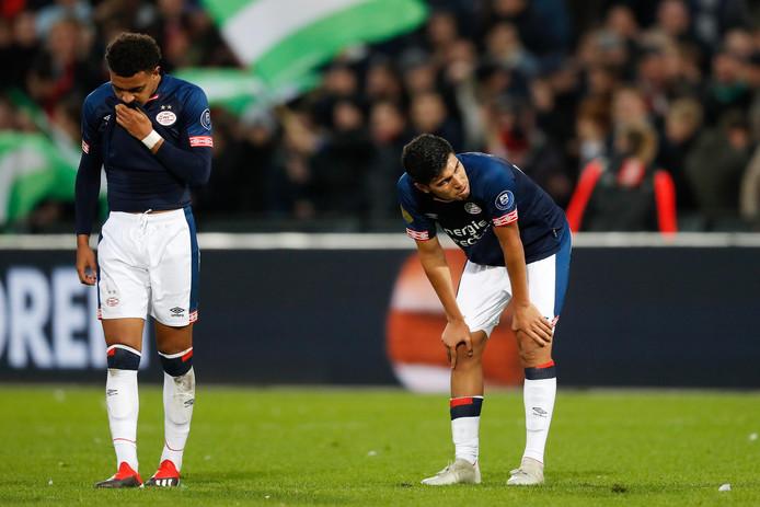 PSV verloor op 2 december 2018 met 2-1 in de Kuip.