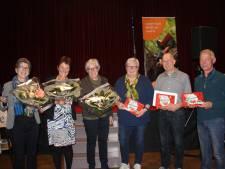 Yvonne Verhoeven wint Groot Dictee van Sint Anthonis