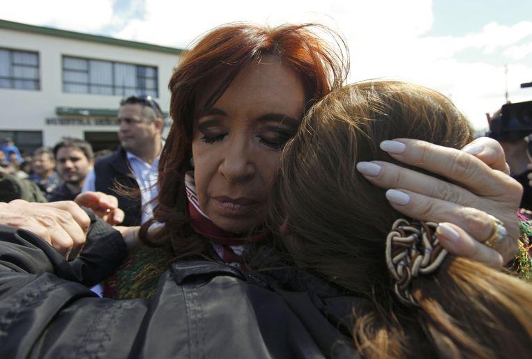 Cristina Fernández de Kirchner, ondertussen presidente af.
