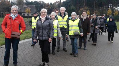 134 senioren nemen deel aan gezondheidswandeling