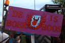 Protest boeren in Veghel.
