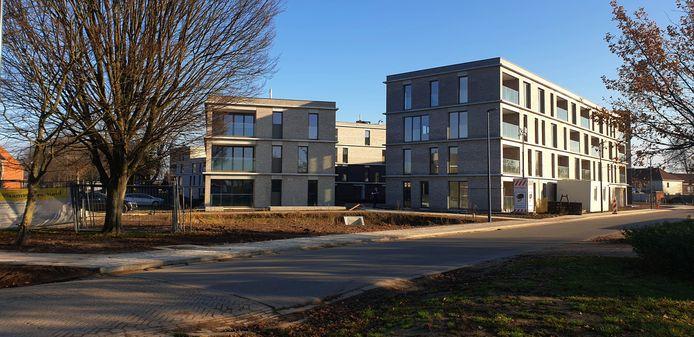 De nieuwbouw op de site Meerhof.