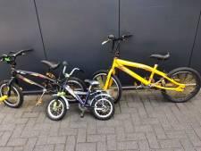 Grote partij gestolen fietsen aangetroffen in Almelo, man (57) opgepakt