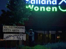 Huurders uit Olst-Wijhe en Raalte voeren actie tegen huurverhoging: 'Van 15 euro doe ik een halve week boodschappen'