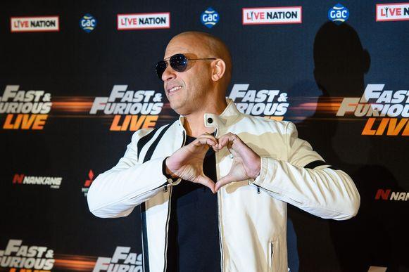 'Fast and Furious'-acteur Vin Diesel.