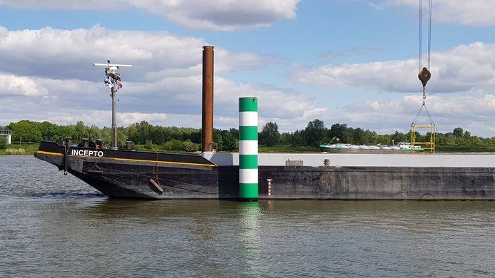 De palen waren een eis voor het aanwijzen van de gemeentelijke haven.