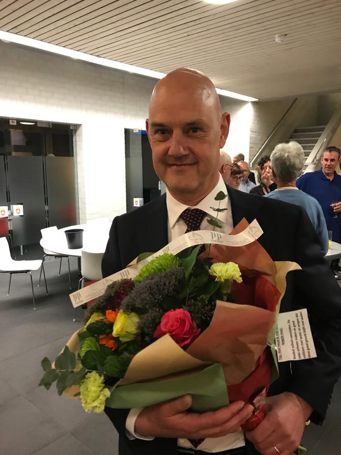 De nieuwe burgemeester van Eersel, Wim Wouters.