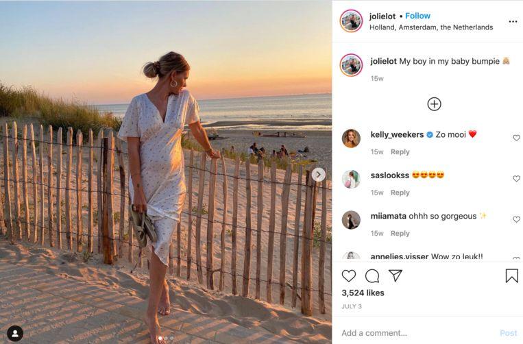 Marlot Willems op Instagram. Beeld Instagram