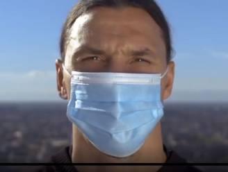 """Ibrahimovic: """"Ik heb gewonnen van corona. Maar jij bent Zlatan niet, dus daag het virus niet uit"""""""