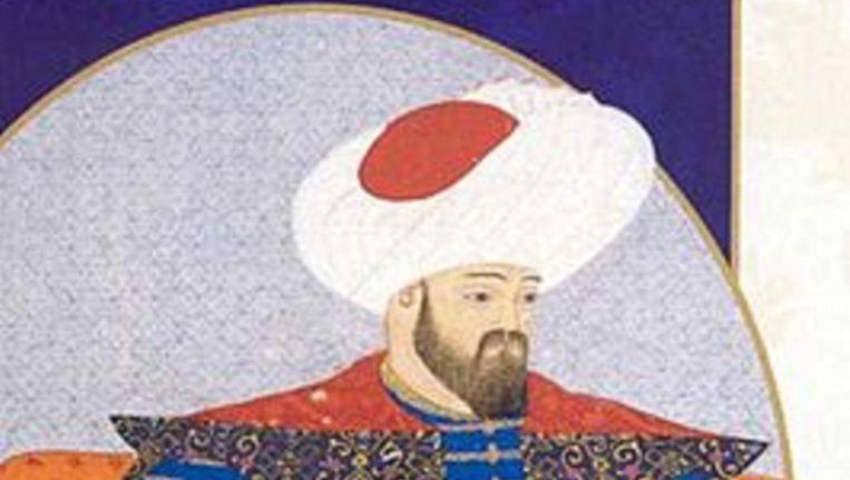 Sultan Osman I 1258-1326) stichtte rond 1300 het Ottomaanse rijk. Beeld Wikipedia