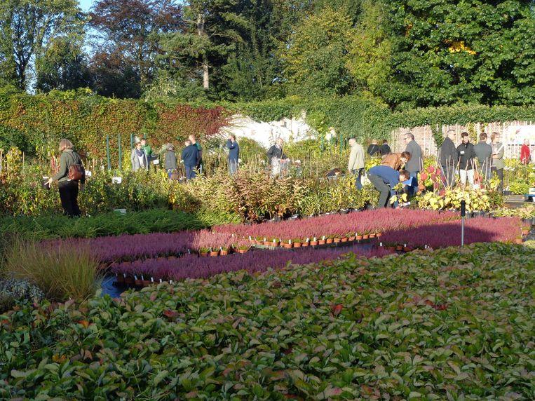 Archief : Herfstverkoop in Tuinbouwschool Melle.