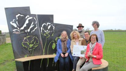 Yves Willems maakt kunstwerk voor Fruitig Hageland