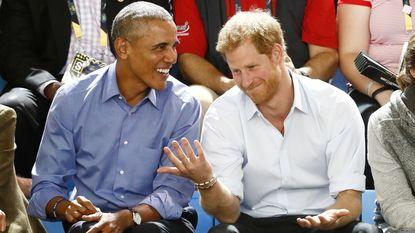 Obama bezoekt Invictus Games van prins Harry