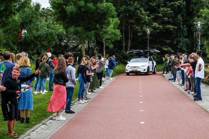 Vrijdag was het (in twee groepen) feest op de Prins Willem Alexanderschool in Veldhoven.