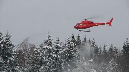 VIDEO. Helikopter ingezet om sneeuw uit bomen te blazen in Duitsland