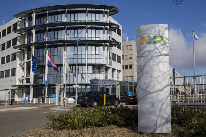 Het kantoor van NXP in Nijmegen.