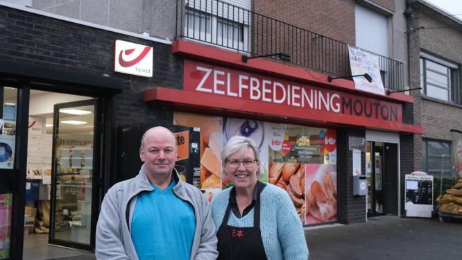 """Patrick en Dorty stoppen na 32 jaar met buurtwinkeltje Mouton: """"Geen zorgen, zaak wordt overnomen"""""""