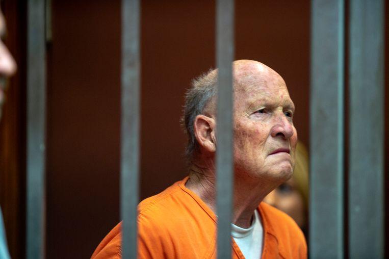 Joseph James DeAngelo, na een DNA-match opgepakt als de Golden State Killer. Beeld AP