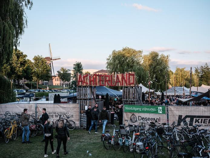 De entree van festival Achterland. Foto: Jan van den Brink