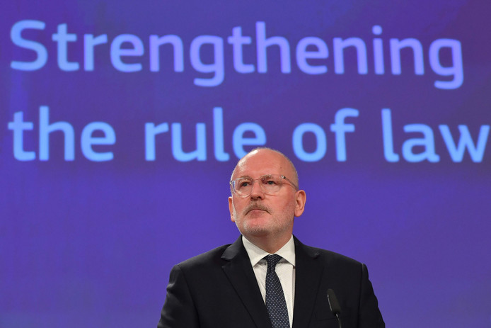 PvdA-lijsttrekker Frans Timmermans.