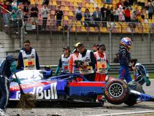 Albon mist kwalificatie na crash in laatste training