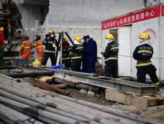 Elf Chinese mijnwerkers na twee weken gered