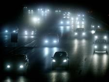 Opnieuw code geel om dichte mist in groot deel van het land