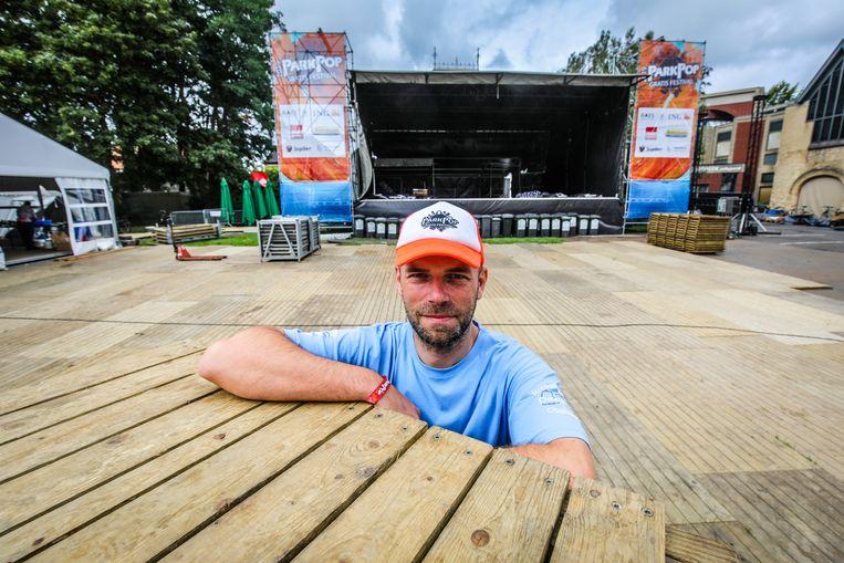Organisator Frederik Teerlinck hoopt op een nieuwe recordeditie voor ParkPop.
