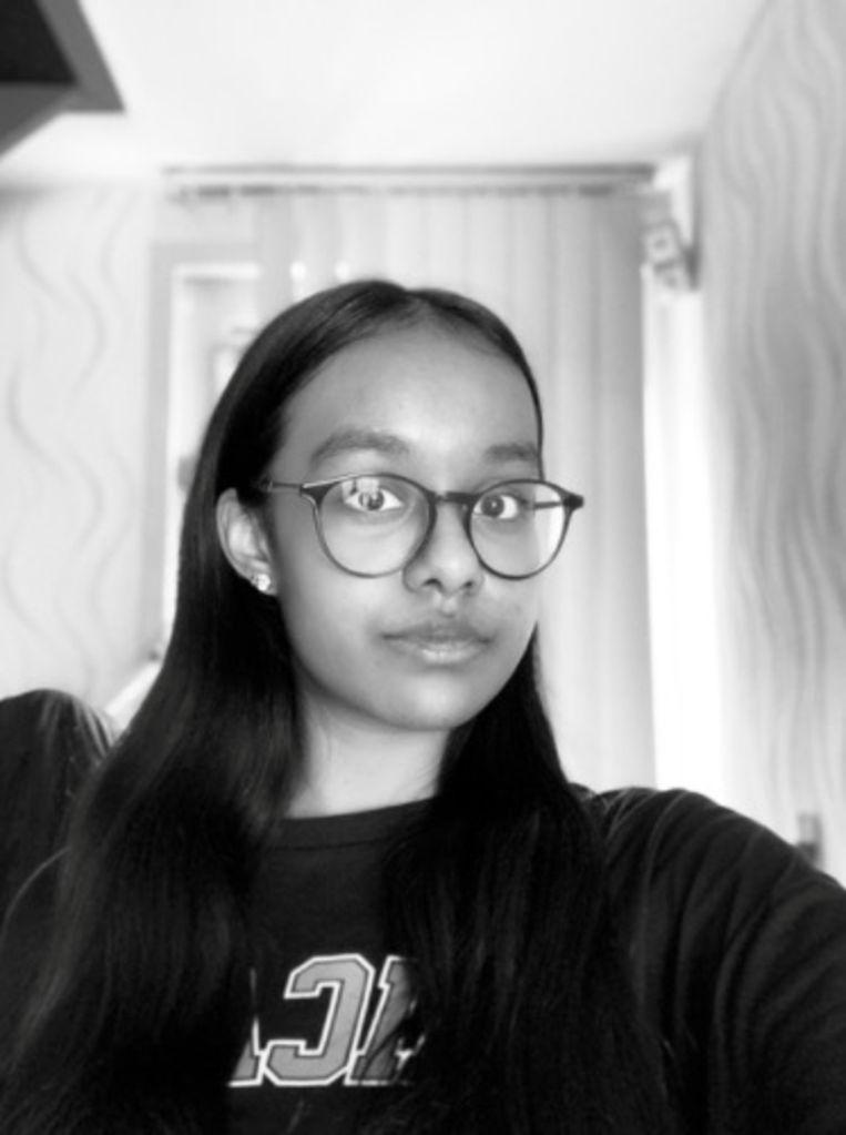 Amisha Radjie. Beeld Het Parool