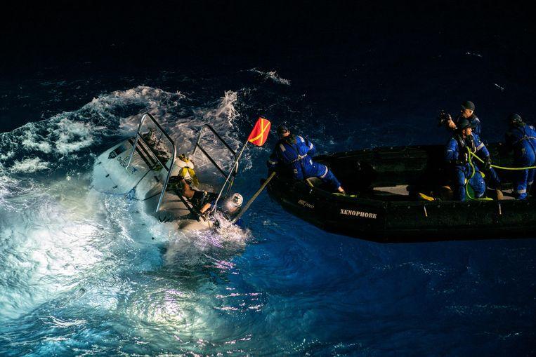Limiting Factor na de terugkeer naar het wateroppervlak.