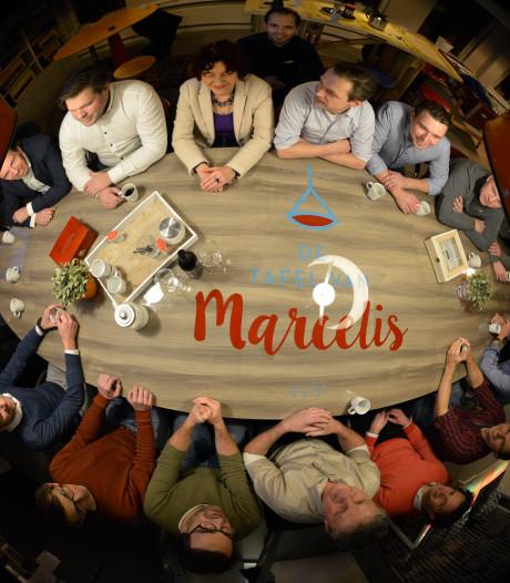 De 'Tafel van Marcelis' staat momenteel in Oldenzaal