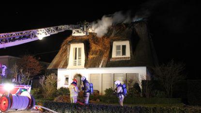 Volledige woning onbewoonbaar door schouwbrand in Lemberge