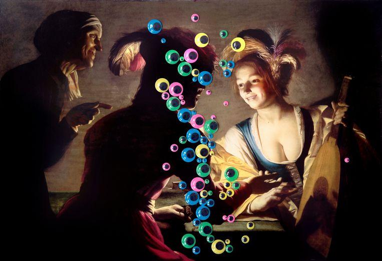 Laurence Aëgerter, 10786-1710201438 (van Honthorst), 2019. Galerie Caroline O'Breen. Beeld Galerie Caroline O?Breen