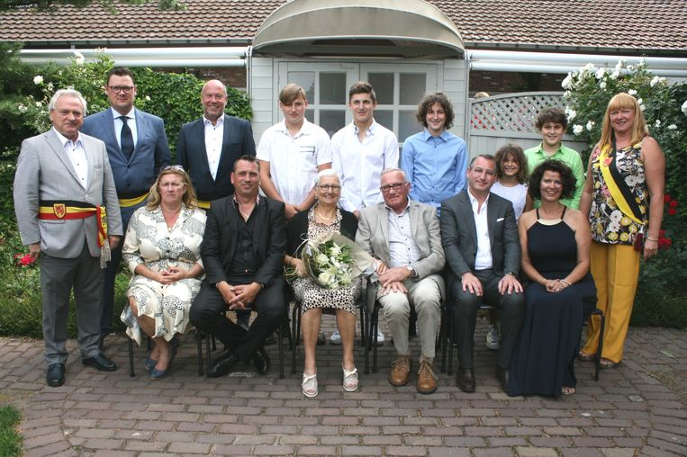 Gouden Bruiloft Luc Stevens en Rita Clinckspoor.