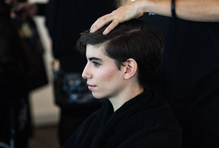Met de zaak hoopt Winnie Hänschen (niet op de foto) dat Nederlandse kappers hun prijzen genderneutraal maken.  Beeld Getty Images