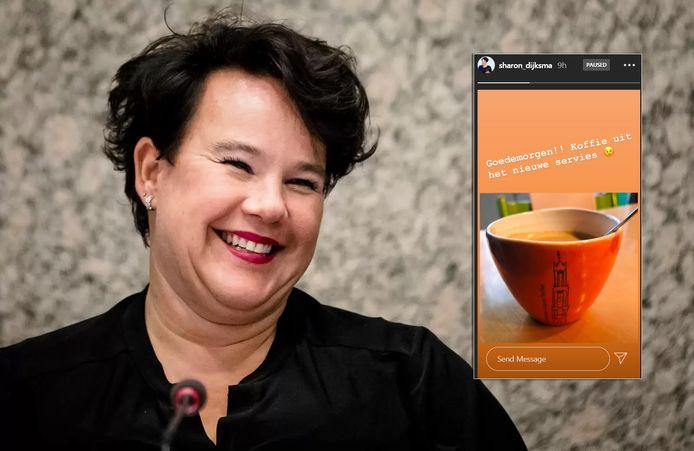 Pas over een paar weken is ze burgemeester, maar Dijksma drinkt alvast Utrechtse koffie