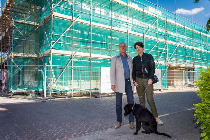 Dolf en Heidi Kusters gaan het kleinschalige woonproject voor ouderen met dementie aan de Molenstraat in Waalre runnen.