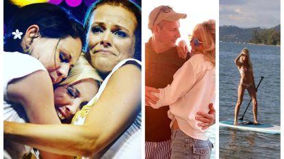 SHOWBITS. Een emotionele dag voor ex-K3, achter de schermen bij 'Temptation' en Gert in romantische bui