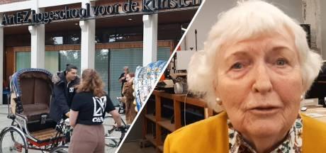 Eerste studente na 70 jaar terug op AKI