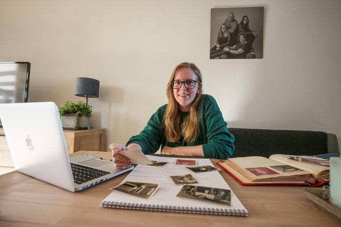 Annika Jacobs is in coronatijd begonnen met een stamboomonderzoek.