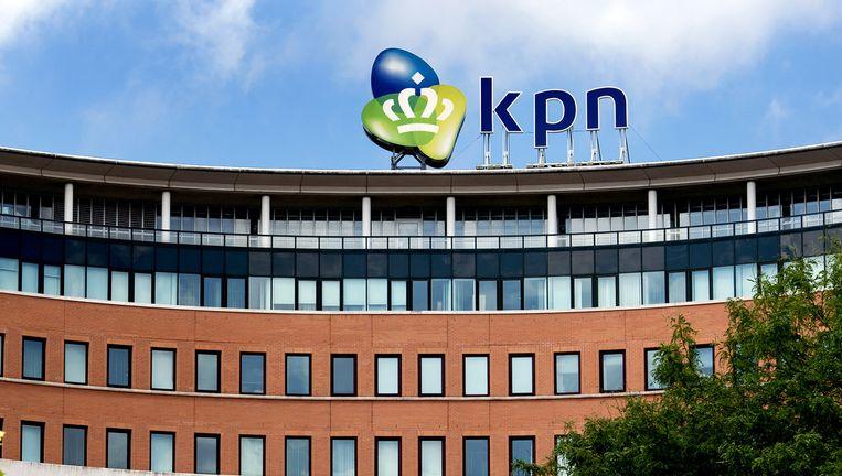 Het hoofdkantoor van KPN.71 internetkabels van deze internetaanbieder zouden zijn afgetapt. Beeld anp