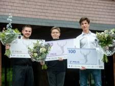 Filmer Loek (14) wint Rhedense wedstrijd om beste bedrijfsplan jongeren