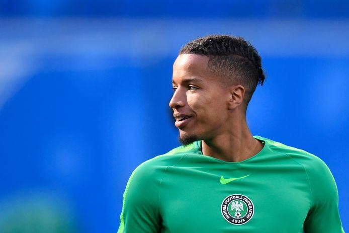 Tyronne Ebuehi kwam namens Nigeria uit op het WK in Rusland.