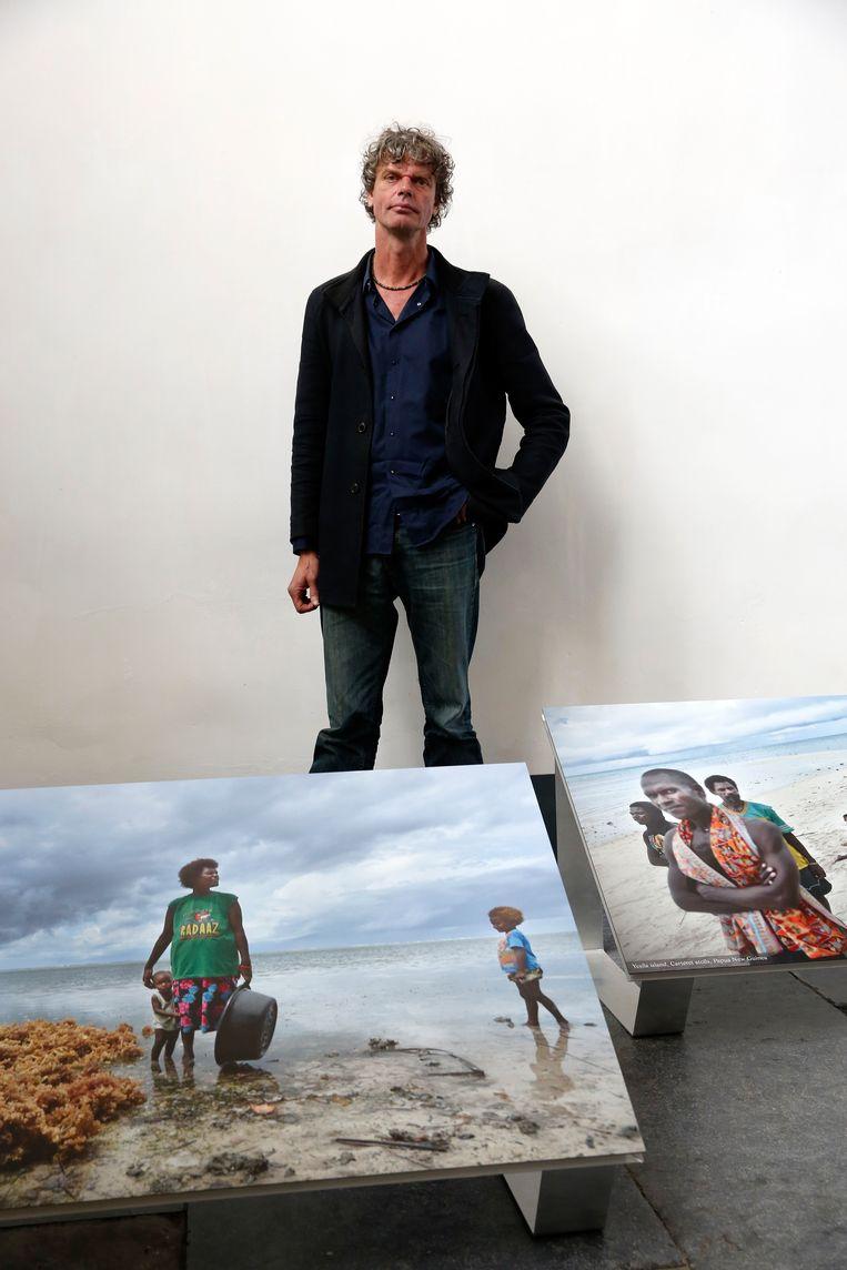 Kadir van Lohuizen: 'Ik ben me altijd bewust geweest van onze strijd tegen het water.'  Beeld Bas Czerwinski/ANP